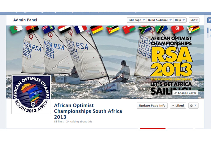 African Optimist Championships South Africa 2013